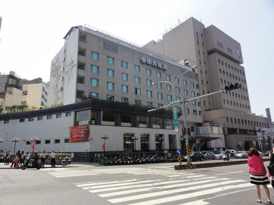 Hotel Tainan: 駅前ですので便利で安心です。