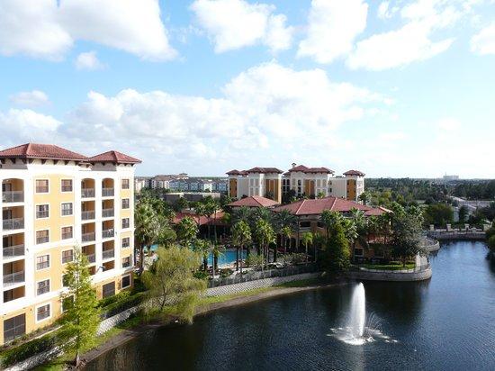 Floridays Resort: Vue depuis notre chambre