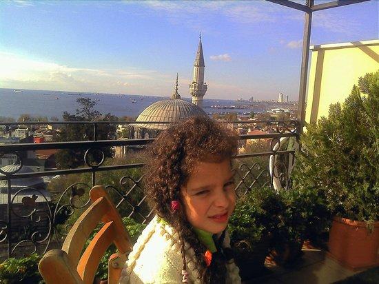 Ada Hotel Istanbul: Ada Hotel Terrace View