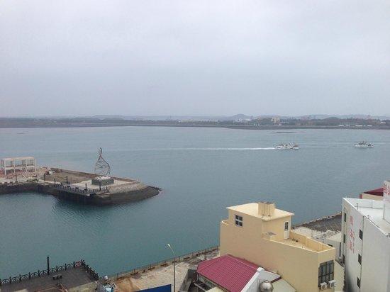 MF Harbor View Hotel Penghu: Aussicht aus dem Zimmer