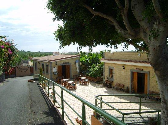 Hotel Rural El Navio: Restaurant und Reception