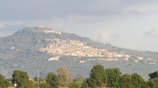 Casa Ambra: Our first site of Cortona
