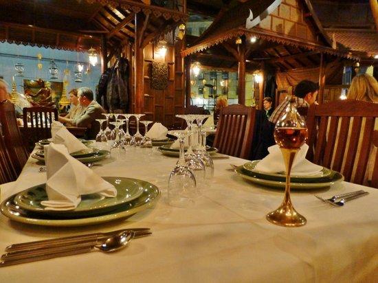 Sila Thai: Gepflegte Tischkultur