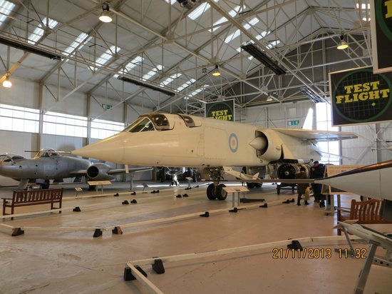 Royal Air Force Museum Cosford: TSR2 The one that got away