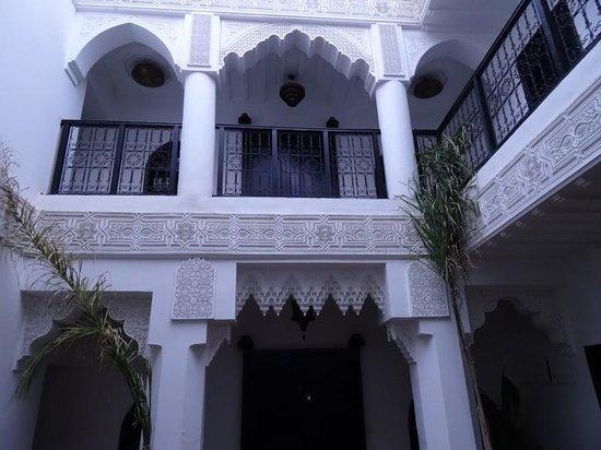 Riad Hannah City Hotel : déco intérieure