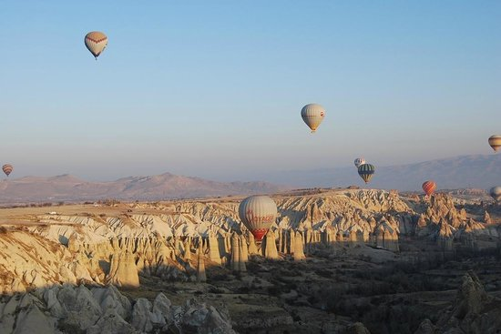 Cappadocia Voyager Balloons : Beautiful view from my balloon flight - Nov 20 2013