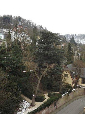 Hotel Am Schloss: VISTA DA JANELA DO QUARTO