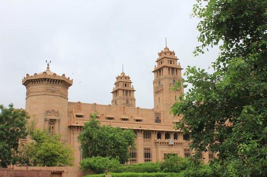 Umaid Bhawan Palace Jodhpur: vista exterior