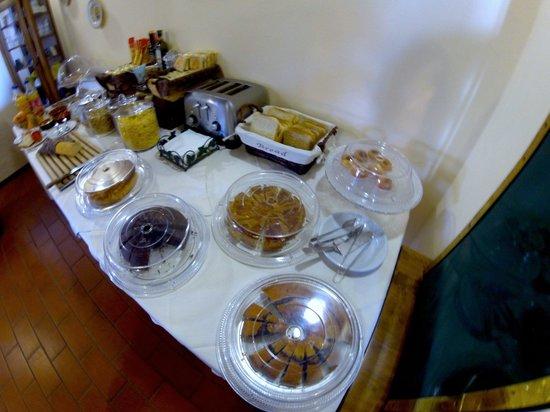 Hotel Tenuta il Burchio: Colazione - dolci