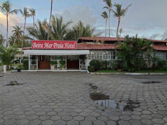 Beira Mar Praia Hotel : A recepção