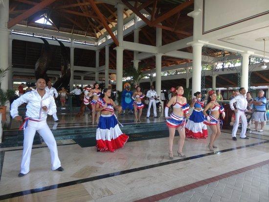 Grand Bahia Principe Bavaro : Accueil de certains touristes