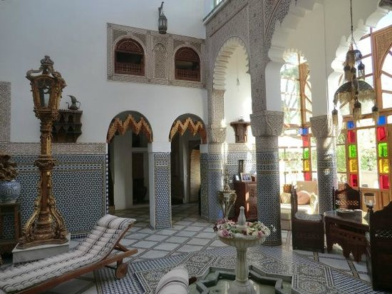 Riad Arabesque : Pool area - again (it was so lovely!)!