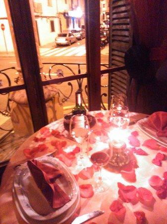 Basmati: La mejor mesa para una pareja!!!!!