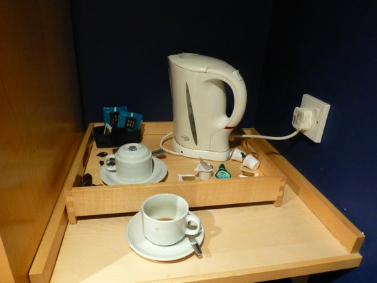 Britannia Airport Hotel : tea coffee