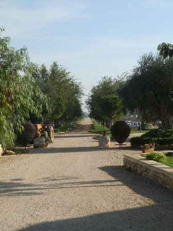 Le Querce di Mamre: Gorgeous entrance to the grounds