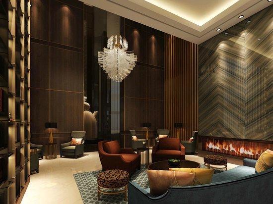 Sheraton Shanghai Jiading Hotel: Lobby Sofa Area