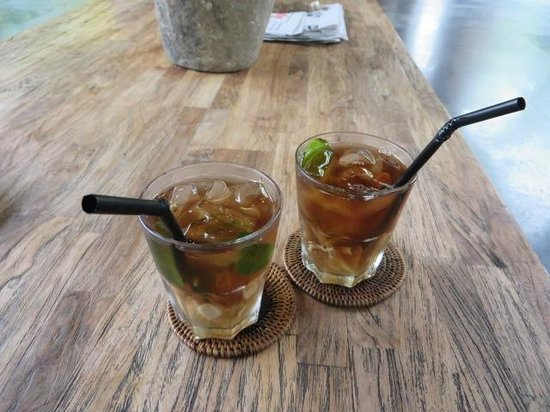 Sri Ratih Cottages: Welcome drink!