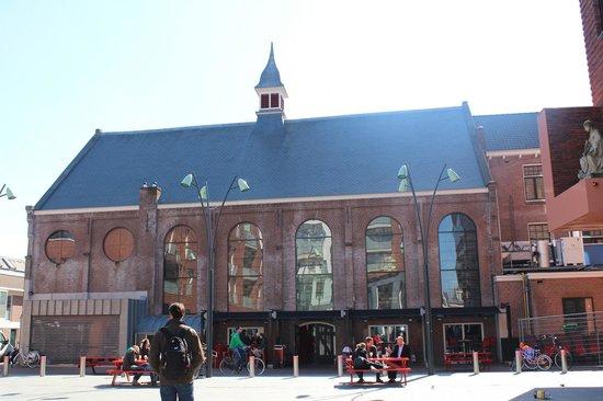 Jopenkerk: Fachada