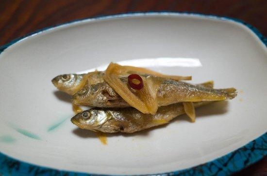 Kigusuriya: Vineger-stewed fish
