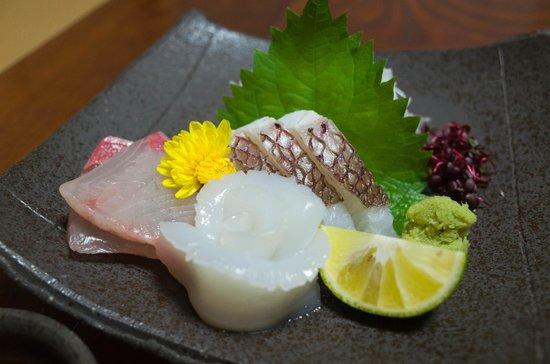 Kigusuriya: Sashimi