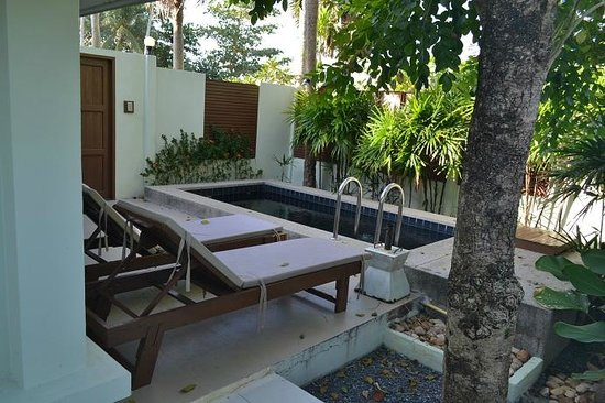 The Beach Boutique Resort : Personal Pool within Villa