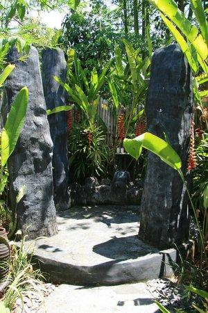 Lullaby Bungalows : tropische Dusche