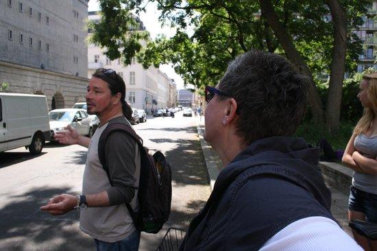 Berlin Bike Tour: Sehr sehr freundlich und kompetent! (Fahrradtour-Führer Steffen)