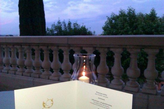 Villa Florentine: terrasse du restaurant
