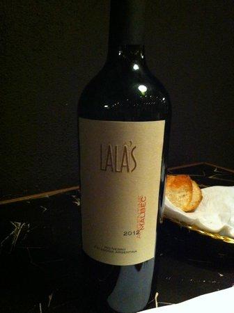 """Lala's : Vin argentin """"Maison"""""""