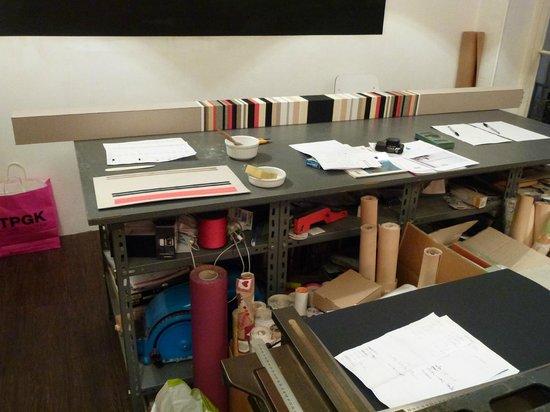 La Moma: Peter Larsen's studio