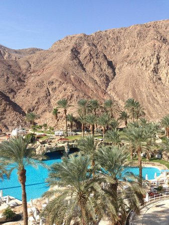 Eilat Princess Hotel : View from Room-mountains