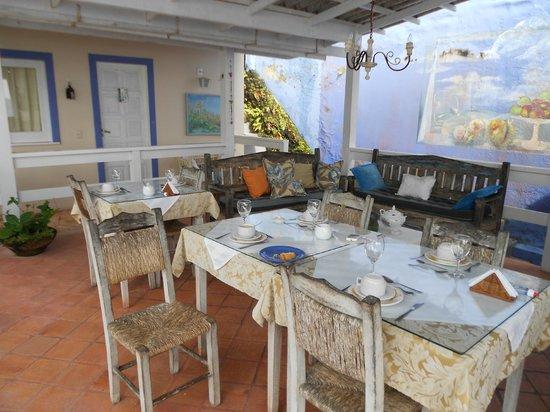 Pousada Via Brasil: Lugar en donde se desayuna, un placer