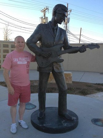 Buddy Holly Statue and West Texas Walk of Fame: Buddy Holly Statue