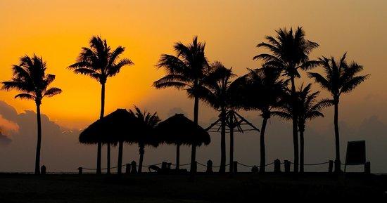 Catalonia Yucatan Beach: Beautiful Sunsets