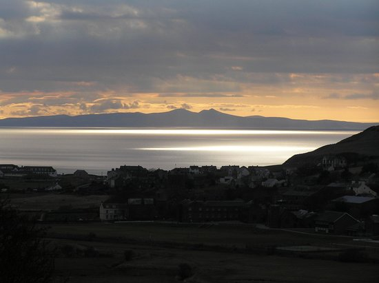St. Bees Beach: View of IOM from St Bees