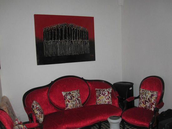 Dar Faracha Fès : petit salon