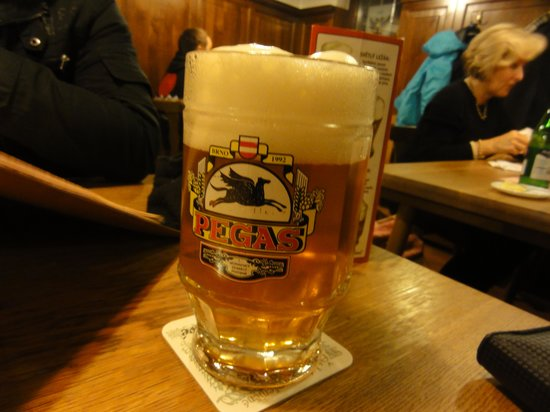 Pegas: Their excellent 'Special' beer