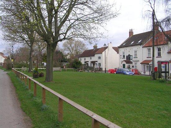 Village green Danby Wiske, with White Swan on right - Picture of White Swan  Inn, Danby Wiske - Tripadvisor