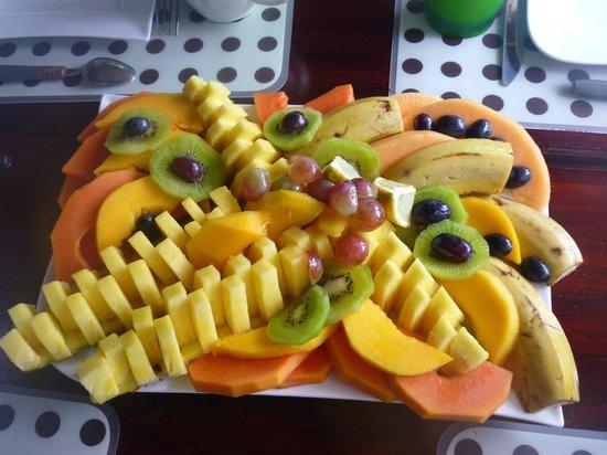 Phidjie Lodge : Une petite partie du petit déjeuner