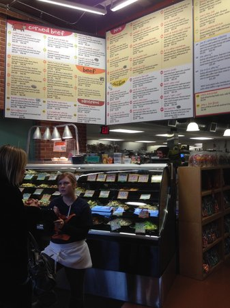 Zingerman's Delicatessen : Menu