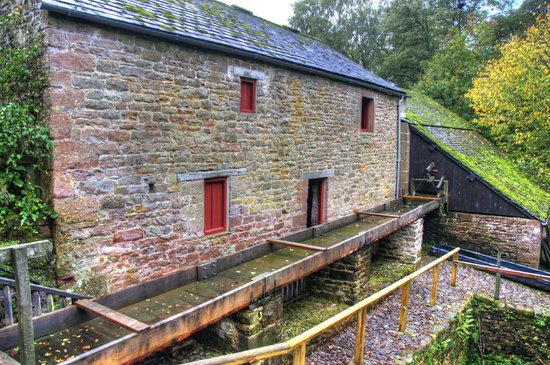 Acorn Bank: Mill house