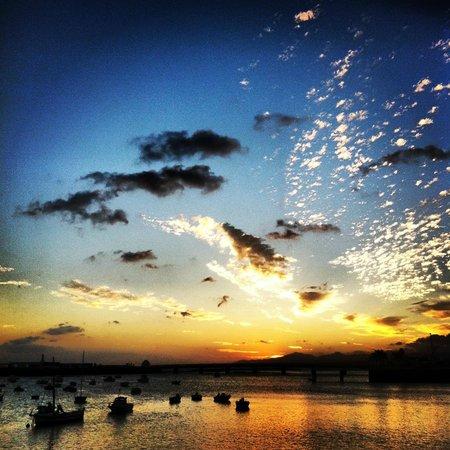 Arrecife Gran Hotel: Sunset