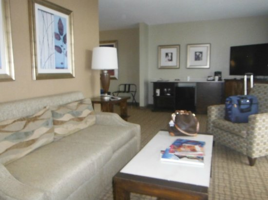 Doubletree by Hilton Grand Hotel Biscayne Bay: View of living room