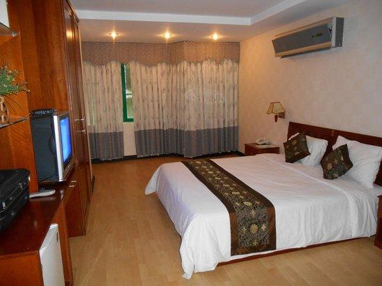 Pacific Hotel : la chambre
