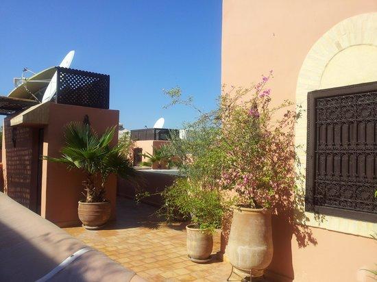 Riad Itrane : 2ème étage toit-terrasse
