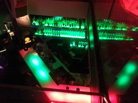 Titanium Bar: Bar area (seen from first floor)