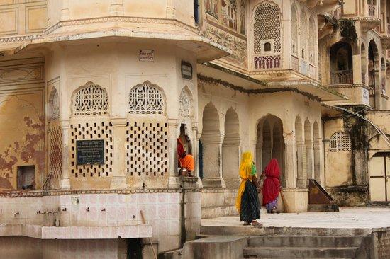 Galtaji Temple : Exteriores