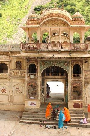 Galtaji Temple : ext.