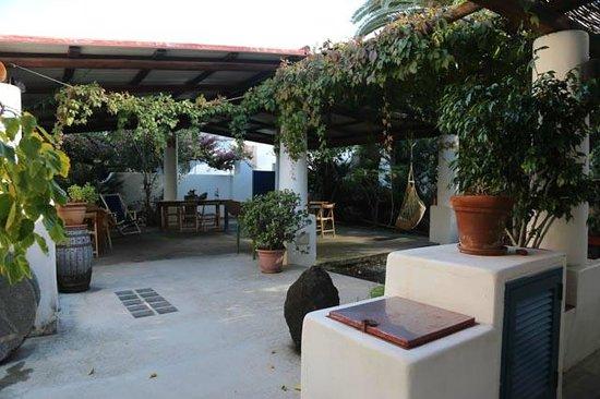 Casa del Sole : le patio