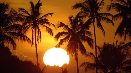 Zenji Hotel: Sonnenuntergang auf Zansibar